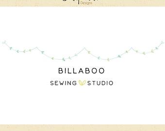 Premade Logo & Watermark // Sewing Studio // Handmade Business // Solipandi Design Studio // #013