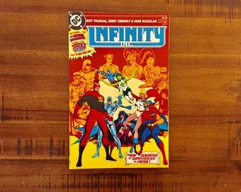 1983 Infinity Inc. #1 Comic Book / J / NM-VF / Justice League / DC Comics