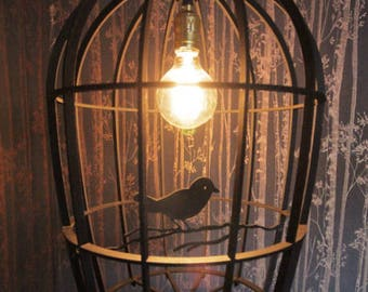 Bird Cage Lamp Shade Retrofit with any existing fittings