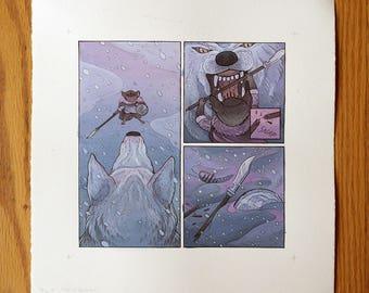 Page 5 - Original Painting - Mouse Guard: Legends vol 3, Guest Artist Nicole Gustafsson