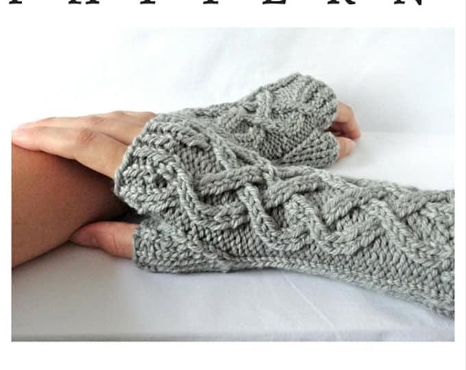 Celtic Fingerless Glove Pattern