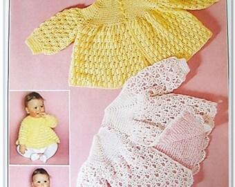 Patons Crochet Pattern 1662 - Angel Tops