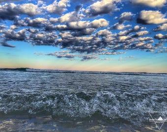 Wells Beach, Maine - Sunset - Photography