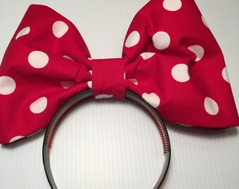 Red Polka Dot/ Minnie Mouse