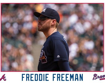 Freedie Freeman Atlanta Braves Canvas Wrap