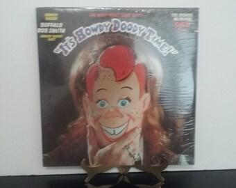 """SEALED! Howdy Doody & Buffalo Bob Smith - """"It's Howdy Doody Time"""" - Circa 1971"""