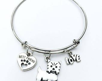 Yorkshire Terrier Best Friend Charm Bracelet