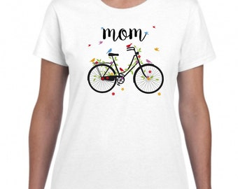 Mother cyclist gift, sports mother, mother cyclist, mother sportswoman, gift for cyclist, Mothers Day Shirt, mothers day gift, mom shirt
