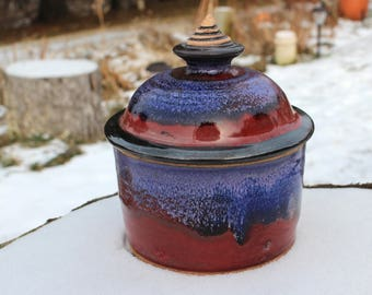 Gypsy Red Small Jar