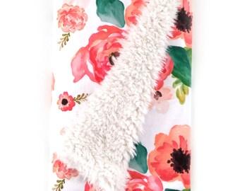 Baby Blanket Floral Dreams. The Cloud Blanket. Faux Fur Baby Blanket. Minky Baby Blanket. Floral Baby Blanket. Coral Baby Blanket.