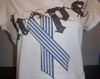 ALS Awareness - Hope with Blue Ribbon