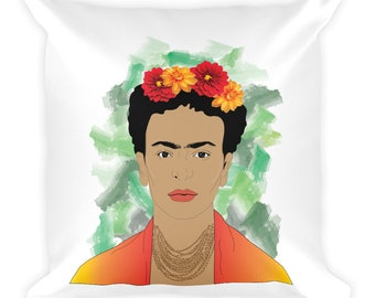 Frida Kahlo Quote Square Pillow