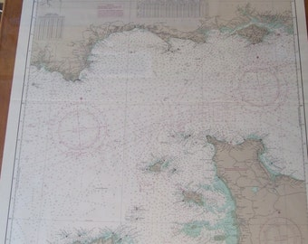English Channel - England and France Nautical Chart #4511