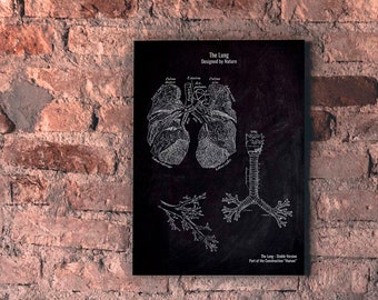 The Lung No. 4-patent-style-A4/A3 Print