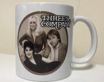 Three's Company Inspired Mug