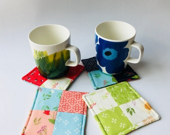 Moda Fabrics, The Front Porch  Collection by Sherri & Chelsi, patchwork coasters