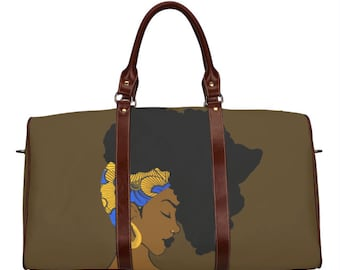 Fro African Travel Bag