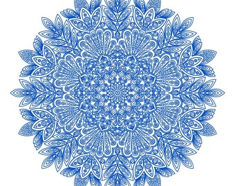 Mandala SVG Vector Digital File
