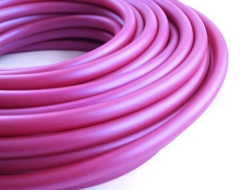 5/8 HDPE Hula Hoop Blue Plum Color Shifting// Customizable// Light Weight//Trick Hoop//Dance Hoop