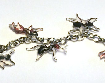 Ant Charm Bracelet