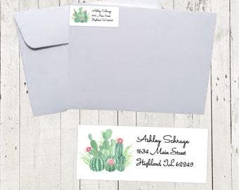 Customized return address labels