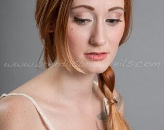 Gold or Silver Bohemian Style Headpiece, Rhinestone Bridal Hair Piece, Crystal Wedding Headband - Avery