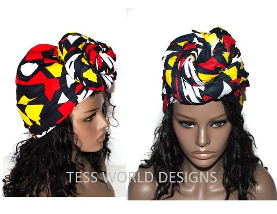 tissu africain pour cheveux