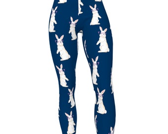 Hipstress Rabbit, on Choice Colored High Waist Womens Stretch Yoga Leggings