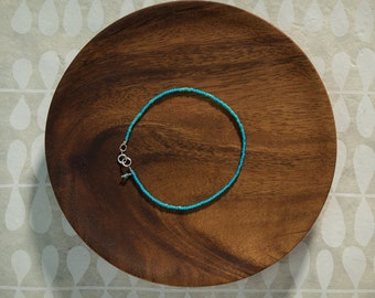 Aqua Minimalist Bracelet