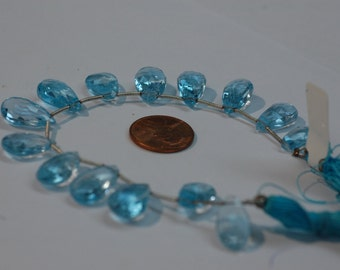 Sky Blue Topaz Pear Faceted