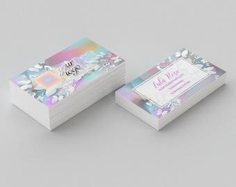 Custom Small Business  Card - Butterfly llr