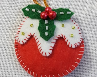 Christmas Tree Ornament, Fully Hand-Made Christmas Decoration