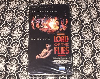 Lord of the Flies [VHS] 1990 Vintage Classic
