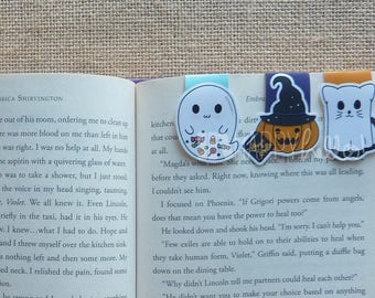 Magnetic Bookmarks • Halloween!