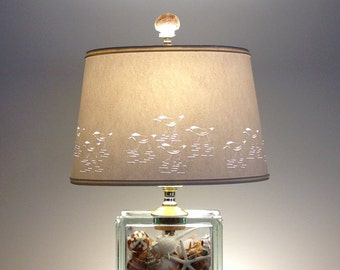 Sandpiper Lamp Lamps Beach Lamp Seashells Fillable Lighting Sandpipers