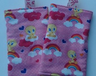 Tweety Bird Drool/Teething Pads for Baby Carriers
