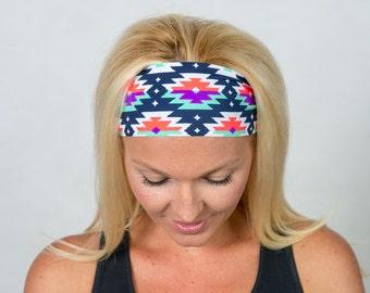 Yoga Headband-Workout Headband-Running Headband-Fitness Headband-Bohemian Headband-Fashion Headband-Bandana-Women Head Wrap-Wide Headband