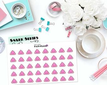 "SNARK SERIES: ""Unicorn Poo"" Paper Planner Stickers!"