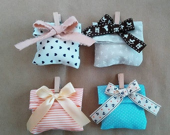 Fabric Bags * Textile * pattern * Candy Box