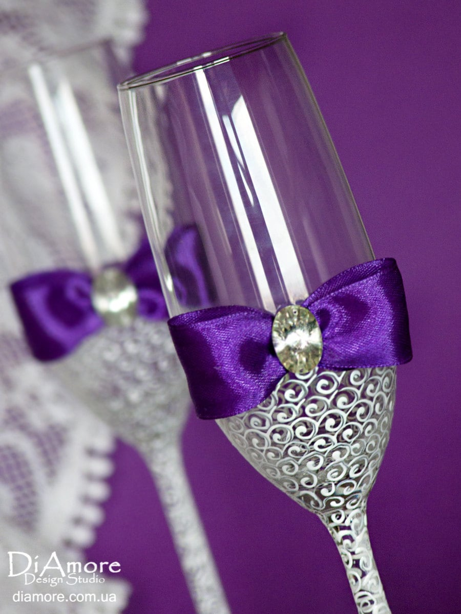 Wedding Champagne Flutes Wedding Toasting Glasses # Champagne Muebles Uy