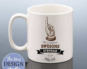 STEPDAD MUG / Stepdad Fathers Day Gift / Stepdad Cup Father's Day Mug / Birthday Gift for Stepdad / Best Stepdad Mug Step Dad Mug Stepfather