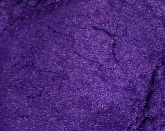 1 oz Purple MIca Shimmer Pigment Cosmetic Powder For Soap Making Mineral Make Up Powder Craft