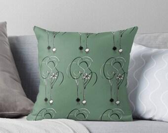 Crocus print Pillow