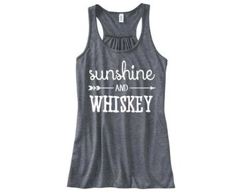 Sunshine and Whiskey Tank Top