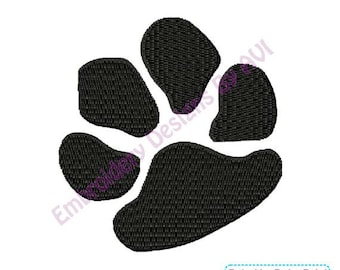 Dog Paw Print Machine Embroidery Designs 4x4 Instant Download Sale
