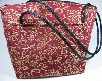 Peggy~( By Cindy's Creative Bags VT ) Purse~Handmade in VT~Zippered Closure~