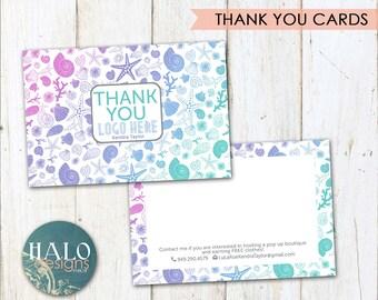 LLR Thank You Cards - SHELLS