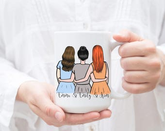 Soul Sister Mug, Personalized Best Friend Gift, Sister Mug, Sister Gift, Best Friend Mug