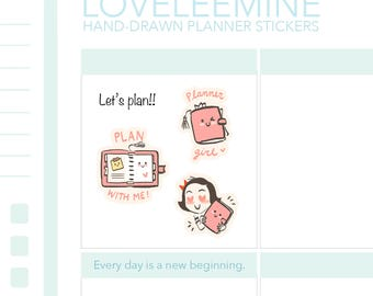 CoCo Planner Girl, Girl Boss Planner Stickers