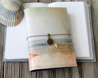 Küsten Journal - Meerjungfrau Seepferdchen Muscheln Strand Urlaub Reisetagebuch von tremundo